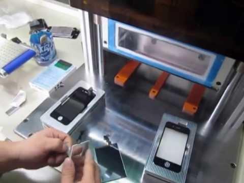 vacuum  OCA laminator-old (видео)