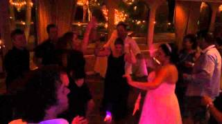 San Diego DJ Leeds at wedding ceremony and reception at Bahia Resort in San Diego, CA. Visit http://www.dj-leeds.com now to...