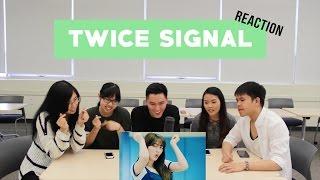 Video [APRICITY] TWICE (트와이스) - SIGNAL (시그널) MV Reaction Video MP3, 3GP, MP4, WEBM, AVI, FLV Desember 2017