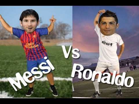 MESSI VS. CRISTIANO RONALDO, im sexy and i know it! LMFAO
