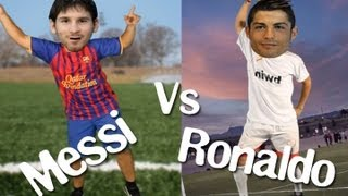 Cristiano Ronaldo Vs Messi , im sexy and i know it! LMFAO