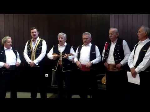 Kordunaška grupa pjevača Petrova gora pjeva o Osmoj kordunaškoj NOU diviziji
