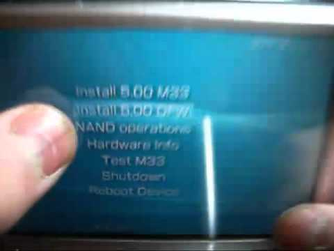 how to remove cfw from psp 1000