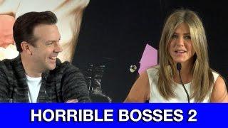 Nonton Horrible Bosses 2 Interviews   Jennifer Aniston  Jason Bateman  Jason Sudeikis   Charlie Day Film Subtitle Indonesia Streaming Movie Download