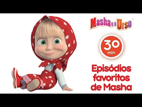 Imagens de feliz ano novo - Masha e o Urso- Episódios favoritos de Masha (Melhor compilação de desenhos animados para  filhos)