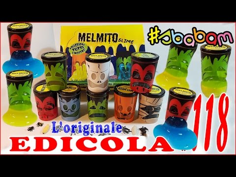 EDICOLA #118: Collezione completa Melmito SLIME - Apriamo PACCO intero (by Giulia Guerra) (видео)