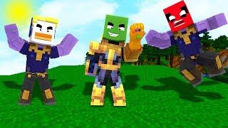 Nos convertimos en Thanos en Minecraft!! Con Duckymarch y Villanes - Avengers Endgame