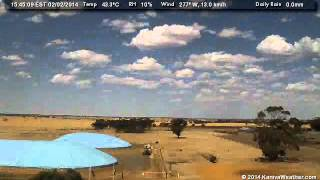 2 February 2014 - East Facing WeatherCam Timelapse - KanivaWeather.com