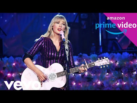 Taylor Swift - Welcome To New York acoustic 1080 HD (Live Amazon Prime Concert 2019)