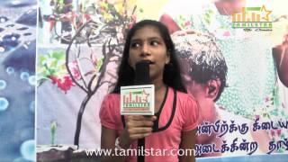 Monika Speaks at Sittu Kuruvi Album Launch