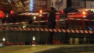 Возле бизнес-центра в Афинах взорвалась бомба, спрятанная в рюкзак