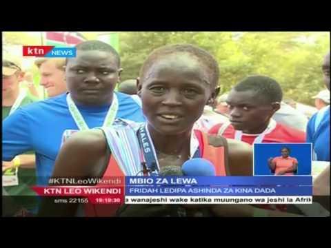 Philomen Mburu na Fridah Ledipa ndio washindi wa mbio za Safaricom katika hifadhi ya Lewa