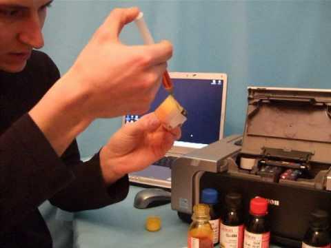 Заправка картриджа лазерного принтера своими руками