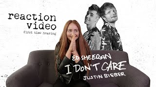 CZY LITTLEMOOONSTER96 ZAGRA W KLIPIE EDA SHEERANA I JUSTINA BIEBERA - I DON'T CARE? [REACTION VIDEO]