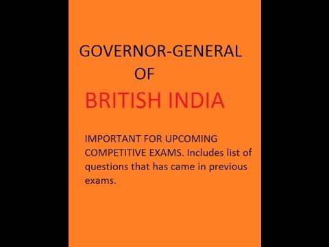 Governor General of British India Part 2 (видео)