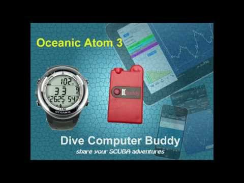 DiveNav Dive Computer Buddy for the Oceanic Atom 3 dive computer