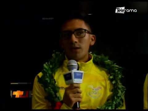 Reconocimiento a Daniel Pintado por su medalla en Panamericano de marcha