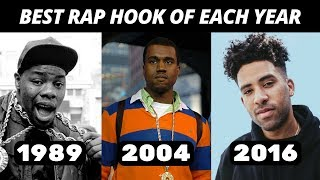 Video Best Rap Hook Of Each Year (1980-2018) MP3, 3GP, MP4, WEBM, AVI, FLV Juni 2018