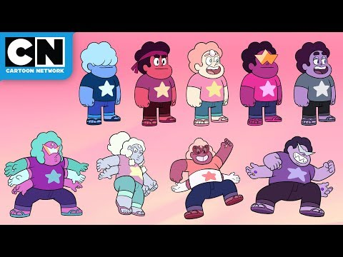 All of the Steven Fusions | Steven Universe Future | Cartoon Network