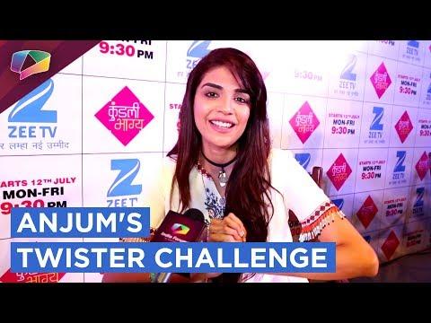 Anjum Fakih Aka Shrishti Takes Up Our Twister Chal