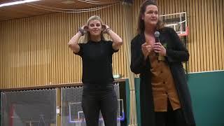 Gemeentelijke erepenning voor Angela Malestein