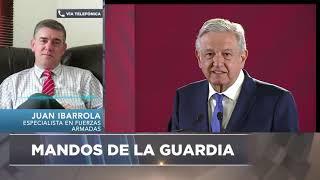 """Entrevista Juan Ibarrola: """"El mando de la guardia nacional""""."""