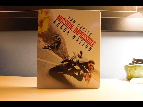 Mission: Impossible – Rogue Nation - Best Buy Exclusive Blu-ray SteelBook Unboxing