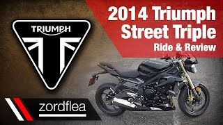 5. 2014 Triumph Street Triple - Ride and Review