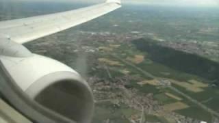 Orio al Serio Italy  city photo : Landing Orio al Serio Bergamo Italy Ryanair RY8606
