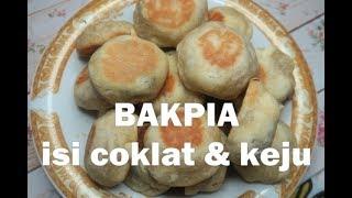 Resep Bakpia isi coklat dan keju