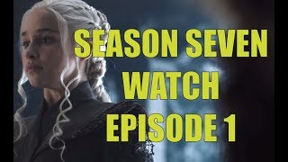 Sweetrobin, Brandon Nightsking and Chad Summerchild are back for their review and analysis of Game of Thrones episode S07E01. Will Season Seven somehow improve?https://www.patreon.com/prestonjacobsAlso, check out Carmine's review: https://www.youtube.com/watch?v=KdWQcgzznjs▬▬▬▬ Follow Me on Social Media! ▬▬▬▬https://www.facebook.com/prestonjacobssweetrobin/https://twitter.com/sweetrobin9000▬▬▬▬ Check Out These Videos! ▬▬▬▬The Purple Wedding: https://www.youtube.com/watch?v=tkIczwc7Hz8A Frey in the Snow: https://www.youtube.com/watch?v=_CaDHo9BsJI&The Deeper Dorne: https://www.youtube.com/watch?v=55N8Q6OINHg&t=1s▬▬▬▬ Information ▬▬▬▬Game of Thrones is an American fantasy drama television series created for HBO by David Benioff and D. B. Weiss. Based on the fantasy novel series, A Song of Ice and Fire by George R.R. Martin. Season Seven of the show has arrived and we follow the adventures of Jon Snow, Daenerys Targaryen and Cersei Lannister. Review. Analysis. Breakdown.