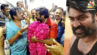 Video Vijay Sethupathi Birthday Celebration At Karuppan Movie Shooting Spot MP3, 3GP, MP4, WEBM, AVI, FLV April 2018