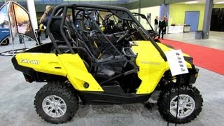 6. 2013 Can-am Commander 800 - Side by Side ATV - 2012 Salon National du Quad
