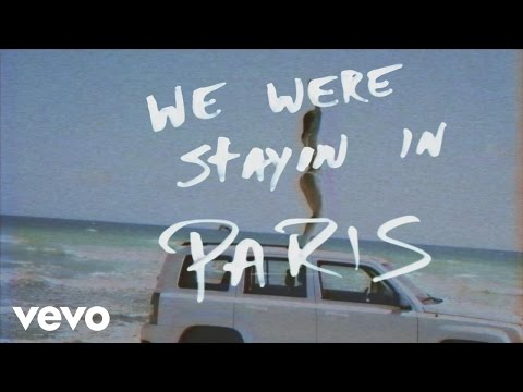 The Chainsmokers - Paris (Lyric) (видео)