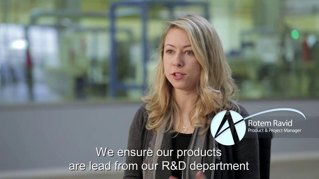 סרט תדמית לטכנולוגיה של אחת מחברות השתלים המובילות