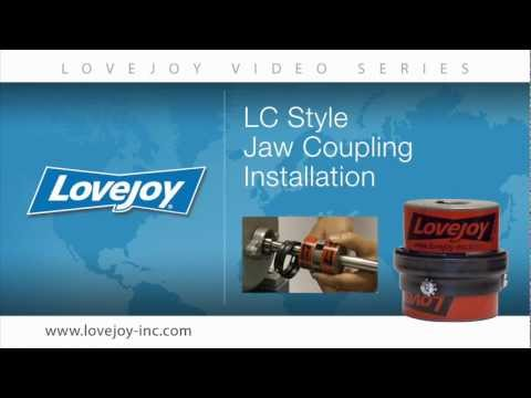 Lovejoy LC Style Jaw Coupling Installation Video thumbnail