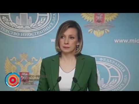 Мария Захарова не ответила на вопрос азербайджанского журналиста (видео)