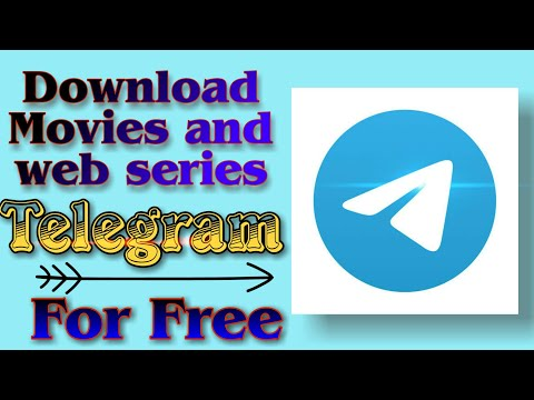 How to download movies and web series using telegram application | How to download latest movie.
