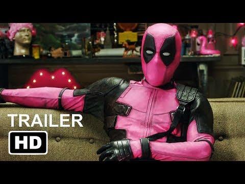 DEADPOOL 2 - Pink Suit Trailer (2018) Ryan Reynolds Marvel Superhero Movie HD