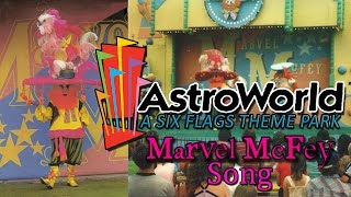 "Join the magical gypsy man onstage! I made this looped version of the famous Marvel McFey song for my documentary ""Six Flags AstroWorld: A Cyclone of Thrills"", but I ended up not using it! So here it is presented in a tribute video featuring footage I used in the documentary. Enjoy!On Ride POVs by JohnYChen: https://www.youtube.com/user/johnychenOff-Ride Shots by Andrew Marshall: https://www.youtube.com/user/psyclonesteveTexas Tornado Off-Ride Shots by Robb Alvey: https://www.youtube.com/watch?v=SgxDi2WTUeESerial Thriller Off-Ride Shots by Thomas Stazer: https://www.youtube.com/watch?v=NiAyRm1AVCAExcalibur On-Ride POV by Shane's Amusement Attic: https://www.youtube.com/watch?v=Fldst_4cLes"