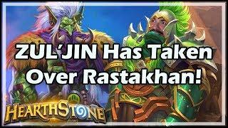 ZUL'JIN Has Taken Over Rastakhan! - Rastakhan's Rumble Run Hearthstone