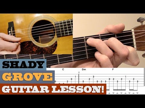 "Crosspicking ""Shady Grove"" 