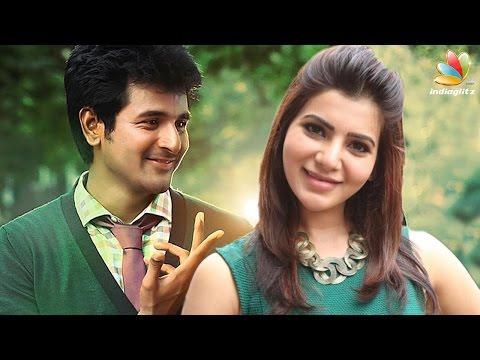 Sivakarthikeyan to romance Samantha in his next | Latest Cinema News