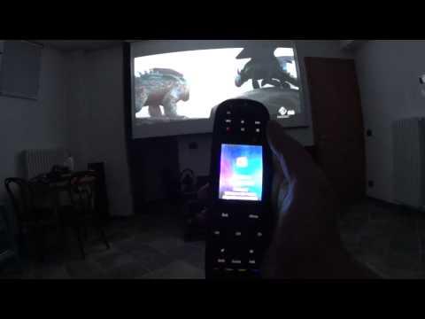 sala home cinema con videoproiettore full hd 3d optoma hd25 lv