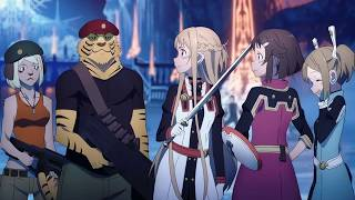 Nonton THE BEST FIGHT BOSS!!! Sword Art Online Ordinal Scale Film Subtitle Indonesia Streaming Movie Download