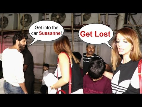 Video Hrithik Roshan FIGHTS With Ex Wife Sussanne Khan Roshan In Public download in MP3, 3GP, MP4, WEBM, AVI, FLV January 2017