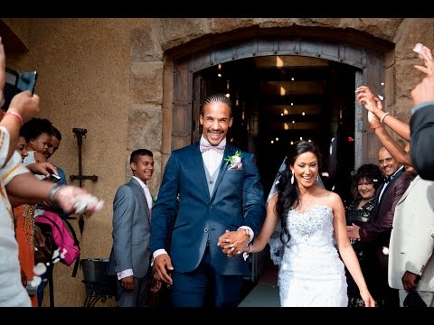 Top Billing features the wedding of Lions star Courtnall Skosan