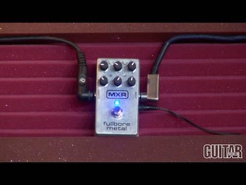 guitarworld MXR Fullbore Metal Stomp Box