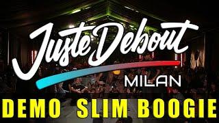 Slim Boogie – Juste Debout 2020 ITALY MILAN POPPING JUDGE DEMO