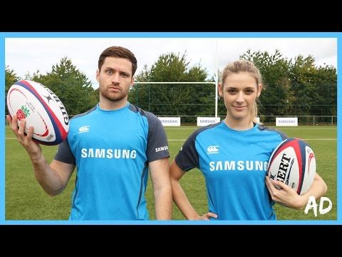 RUGBY CHALLENGE! - SPENCER VS ALEX